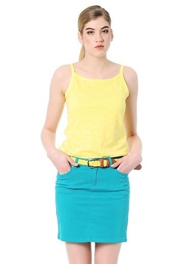 T-Box Tişört Sarı